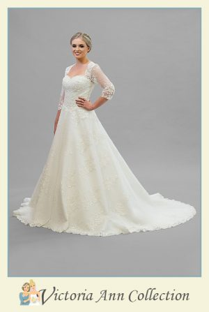 WD025J - A stunning collection of wedding dresses, bridal gowns, prom dresses, mothers outfits and bridesmaids, Victoria Ann Bridal