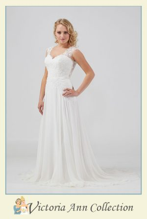 WD043FL - A stunning collection of wedding dresses, bridal gowns, prom dresses, mothers outfits and bridesmaids, Victoria Ann Bridal