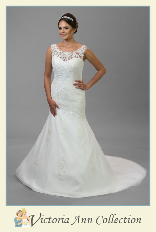 WD092FL - A stunning collection of wedding dresses, bridal gowns, prom dresses, mothers outfits and bridesmaids, Victoria Ann Bridal