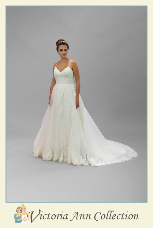 WD114FS - A stunning collection of wedding dresses, bridal gowns, prom dresses, mothers outfits and bridesmaids, Victoria Ann Bridal